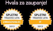 Spletni trgovec leta 2013 - ZMAGOVALEC | Hvala za zaupanje!