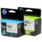 Komplet kartuš HP nr.901XL BK + 901 CMY, original