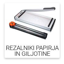 Rezalniki papirja in giljotine
