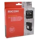 Gel kartuša Ricoh GC21BK (405532) (črna), original
