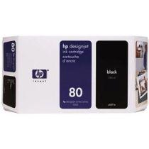 Kartuša HP C4871A nr.80 (črna), original