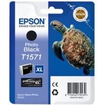 Kartuša Epson T1571 (foto črna), original