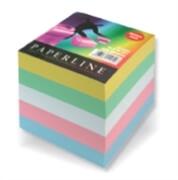 Papirna kocka PaperLine, barvna, 800 listov