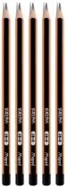 Grafitni svinčnik HB, 5 kosov