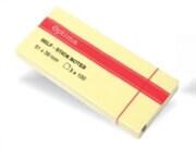 Samolepilni lističi v bloku (51 x 38), rumena, 3 x 100 listov