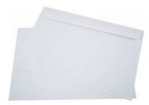 Kuverta C4, 229 x 324 mm, bela, 50 kosov