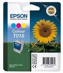 Poškodovana embalaža: kartuša Epson T018 (barvna), original