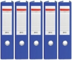 Registrator QBO A4/75 (modra), samostoječ, 5 kosov