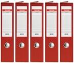 Registrator QBO A4/75 (rdeča), samostoječ, 5 kosov