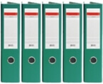 Registrator QBO A4/75 (zelena), samostoječ, 5 kosov