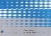 Obrazec potni nalog za prevoz oseb (4700), 2 kosa