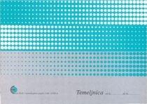 Obrazec temeljnica (6890A), 2 kosa