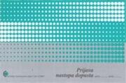 Obrazec prijava nastopa dopusta (5400), 2 kosa