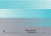 Obrazec blagajniški prejemek (6610), 2 kosa