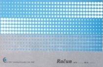 Obrazec račun (5360), 2 kosa