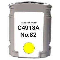 Kartuša za HP C4913A nr.82 (rumena), kompatibilna