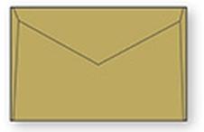 Kuverta B4, 353 x 250 mm, rjava, 50 kosov