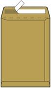 Kuverta vrečka B5, 176 x 250 mm, rjava, 500 kosov