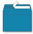 Kuverta B6, 125 x 176 mm, modra, 500 kosov