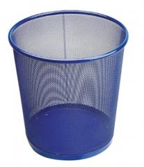Koš 27 x 28 cm, kovinski, modra