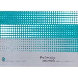 Obrazec prejemnica materiala (6410), 2 kosa