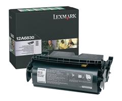 Toner Lexmark 12A6830 (T520) (črna), original