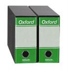 Registrator Oxford A5/80 v škatli (zelena), 12 kosov