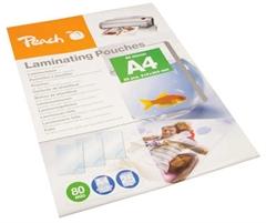 Žepki za plastificiranje (A4), glossy, 80 mic, 25 kosov (PPR080-02)