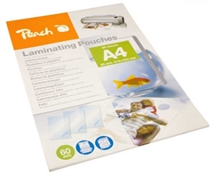 Žepki za plastificiranje (A4), glossy, 60 mic, 25 kosov (PPR060-02)