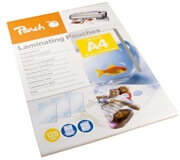 Žepki za plastificiranje (A4), glossy, 125 mic, 25 kosov (PPR525-02)