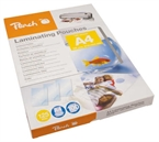 Žepki za plastificiranje (A4) Peach, 125 mic, 100 kosov (PP525-02)