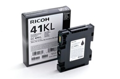 Gel kartuša Ricoh GC41BK LC (405765) (črna), original