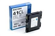 Gel kartuša Ricoh GC41C LC (405766) (modra), original