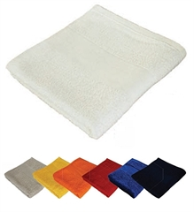 Brisača Economy 100 x 150 cm, 360 gramov, bela