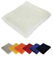 Brisača Economy 100 x 150 cm, 360 gramov, oranžna