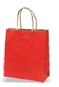 Darilna vrečka, srednja, rdeča