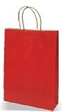 Darilna vrečka, velika, rdeča