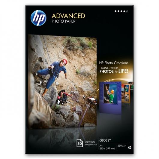 Foto papir HP Q8698A, A4, 50 listov, 250 gramov