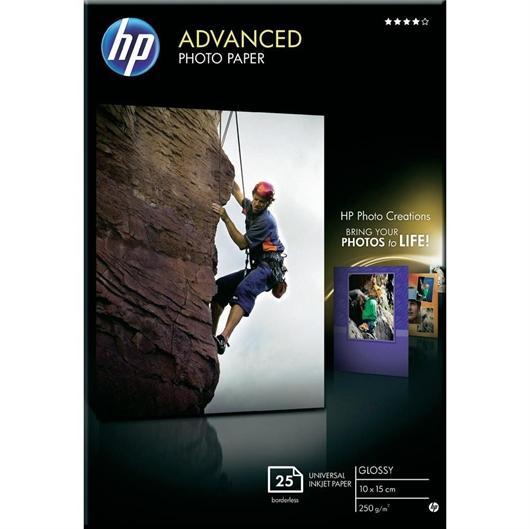 Foto papir HP Q8691A, A6, 25 listov, 250 gramov
