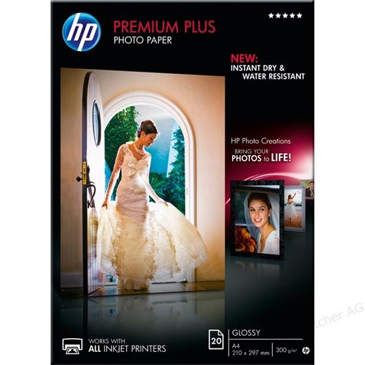Foto papir HP CR672A, A4, 20 listov, 300 gramov