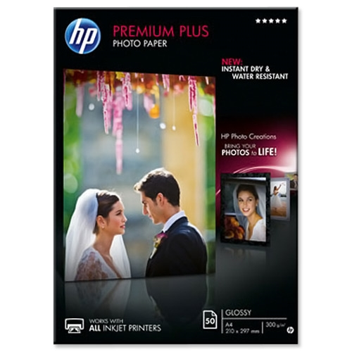 Foto papir HP CR674A, A4, 50 listov, 300 gramov