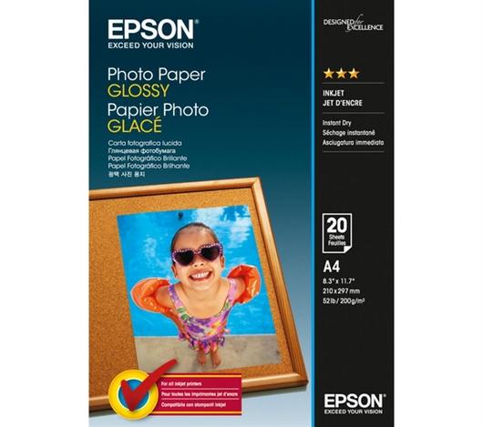 Foto papir Epson C13S042538, A4, 20 listov, 200 gramov