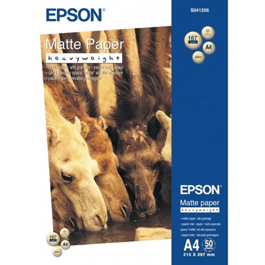 Foto papir Epson C13S041256, A4, 50 listov, 167 gramov
