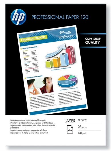Foto papir HP CG964A, A4, 250 listov, 120 gramov