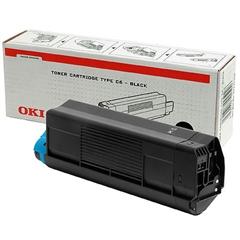 Toner OKI 42127408 (C5100) (črna), original