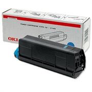 Toner OKI 42127407 (C5100) (modra), original