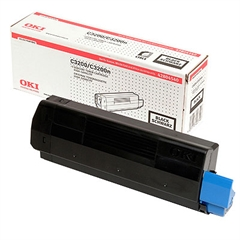 Toner OKI 42804540 (C3200) (črna), original