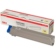 Toner OKI 42918913 (C9600/C9650) (rumena), original