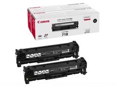 Komplet tonerjev Canon CRG-718BK (2662B005) (črna), dvojno pakiranje, original
