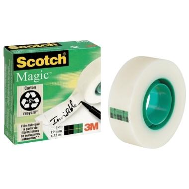 Lepilni trak Scotch Magic 12 mm x 33 m
